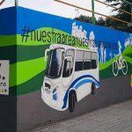 Murales Pedagógicos en la Semana de la  Movilidad