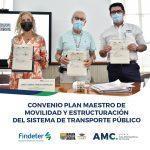 CONVENIO PLAN MAESTRO DE MOVILIDAD- FINDETER, AMC Y MUNICIPIO DE CÚCUTA