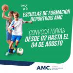 ESCUELAS DE FORMACIÓN DEPORTIVAS AMC